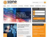 Saine Homepage