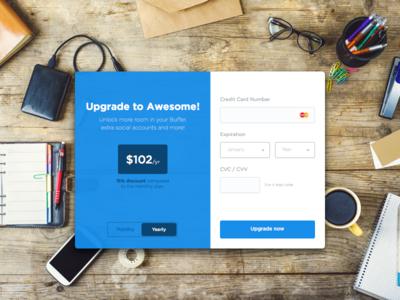 Buffer - Credit Card Checkout