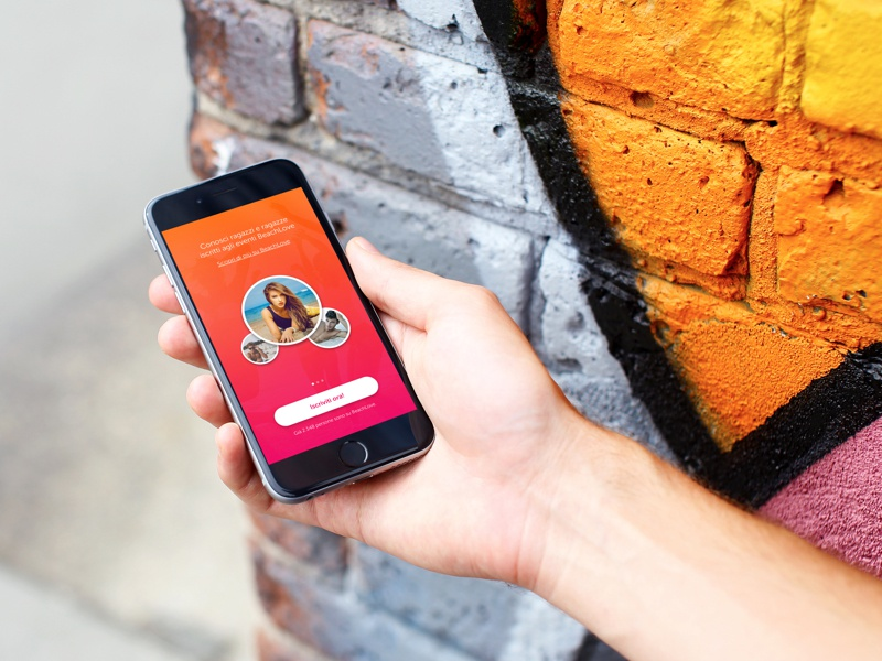 Beach Love / Walkthrough cta app ios walkthrough tinder dating love beach