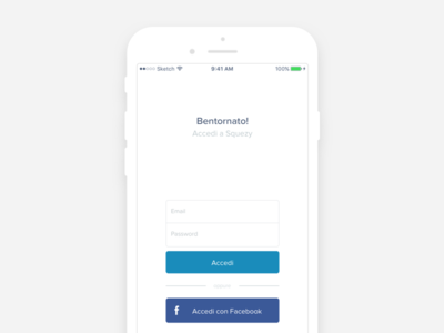 Squezy / Login & Signup