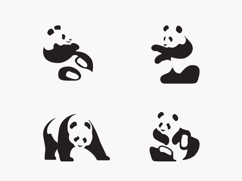 Panda Icon Party atlanta icons illustration vector bears pandas