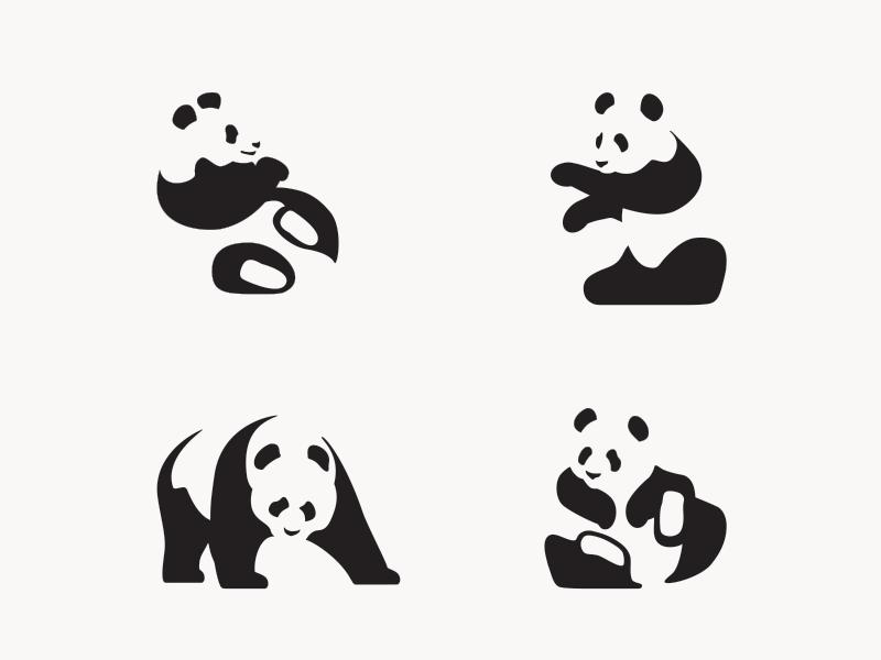 Panda Icon Party atlanta icons illustration vector bears pandas
