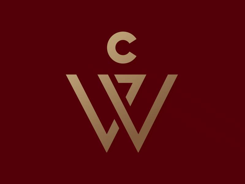 WVC Brand Logomark id brand woodruff volunteer center logo letterform service charities atlanta