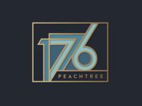 1776 Logo Concept identity brand font design commercial developer signage building typography real estate atlanta