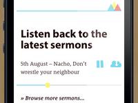 Sermon Player