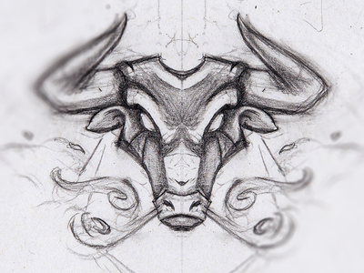 Bull illustration vector espanol cow sketch drawing badge esport mascot mascot logo sportslogo gaming twitch spain pinata angry smoke streamer mascot illustration taurus bull