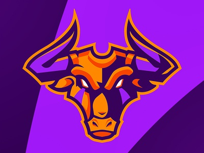 MembTV esport mascot sports badge design sports logos mascot logo sports logo esport logo sportlogo sportslogo twitch rebrand vector logo gaming illustration esport mascot cow bull