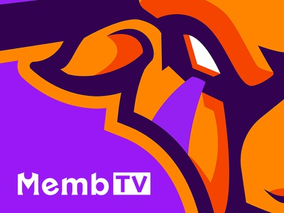 MembTV Close-up bull cow mascot esport illustration gaming logo vector rebrand twitch sportslogo sportlogo esport logo sports logo mascot logo sports logos design badge sports esport mascot