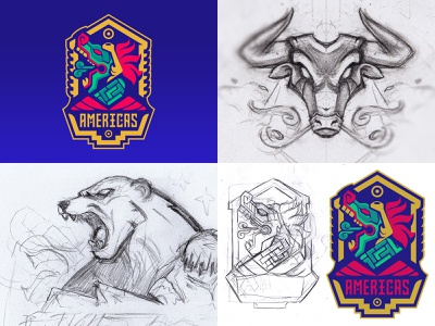 Highlights from 2018 bull medieval twitch animal branding design esport mascot drawing sports logo sportslogo sketch sports vector badge logo esport gaming illustration mascot mascot logo