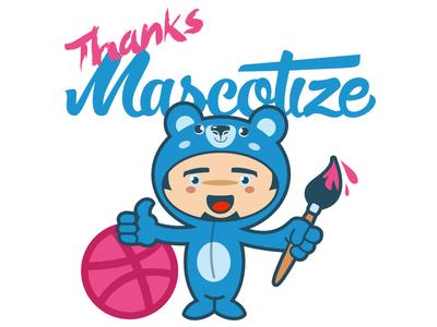 Thanks Mascotize! kawaii flat