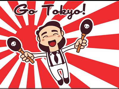 Go Tokyo! kawaii flat
