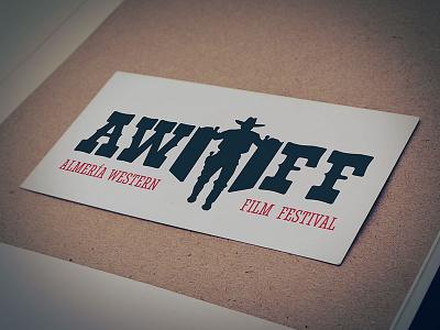 Almería Western Film Festival Logo logotype vector