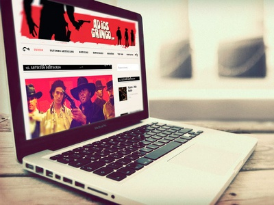 Adios Gringo Web web design wordpress