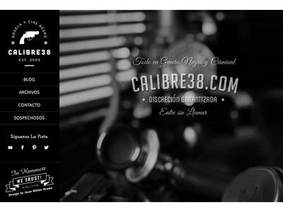 Calibre38.com Blog genesis framework web design wordpress
