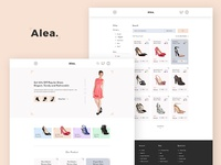 Alea - Women's Shoe eCommerce
