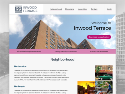 Apartment Building Website