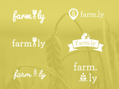 Farm.ly Hackathon Logo Exploration
