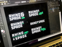 Rhino & Spade Logo Exploration