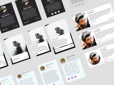 Profile Card Exploration