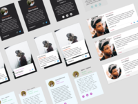 Profile Card Exploration