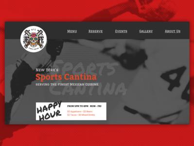 Sports Cantina Concept
