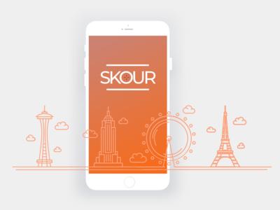Skour - Splash Screen