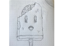Zombie popsicle sketch 2019 07 21