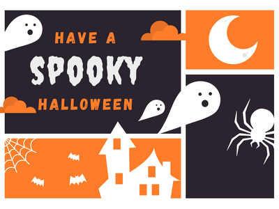 Have a Spooky Halloween! branding graphic design animation