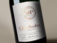 Wine Label Rudbeckia Winery