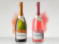 Cuevas Santoyo Wine rebranding