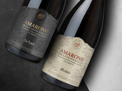 Amarone wine label toltol studio toltol wine branding amarone label label design wine label