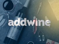 Addwine. Wine store branding