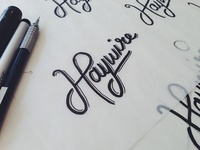 Haywire Hand Lettering