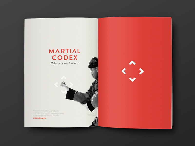 Martial Codex Magazine By Sam Stratton Dribbble