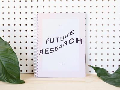 Future Research (Revisited) Art Book print for sale sale art book cranbrook fine art book spread photography art