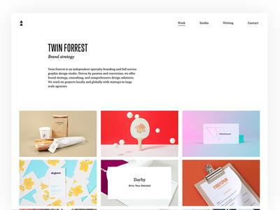 Twin Forrest Website Update