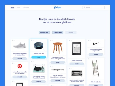 Budgee Interface