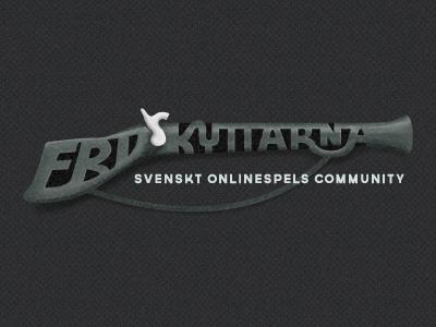 Logotype logo musket gun community