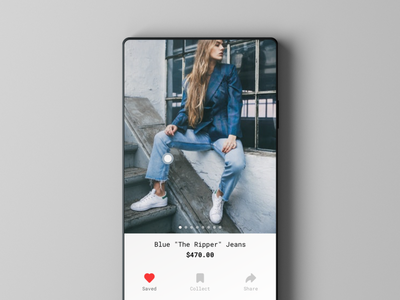 Belined - Social Shopping App ecommerce shopping social shopping social app social interaction design user experience product design user interface design ux ui