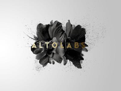 Exploring ideas for our new website minimal branding photo logo gradient flower black white