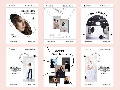 Feed Instagram Minimalist | Fashion design fashion feed fashion logo feed instagram graphic design design branding