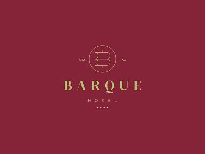 Barque Hotel hotel branding sails barque boat ship sea hotel identity branding mark symbol logo