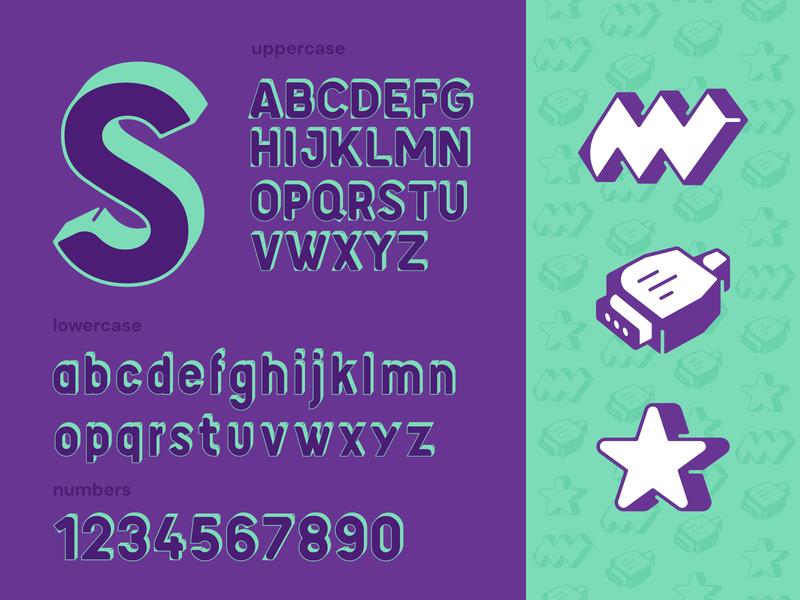 Supermetrics Font brandidentity typeface design typeface fonts font family font design typography identity branding mark symbol logo