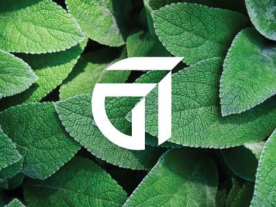 Growe Logo Animation monogram letter g green plant leaf logomotion motion design logoanimation negative space identity branding mark symbol logo