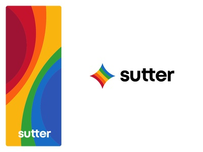 Sutter light torus colorful colors star identity branding mark symbol logo