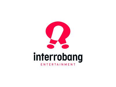 Interrobang!? media entertainment exclamation mark question mark interrobang monogram negative space identity branding mark symbol logo