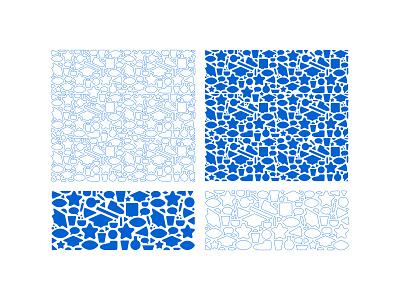 Pattern graphic design school college pattern identity branding