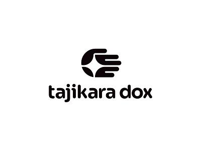 Tajikara Dox light hand movie film negative space identity branding mark symbol logo