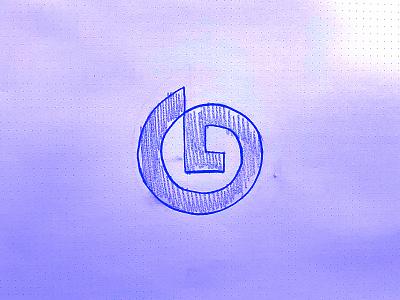 G letter g sketch identity branding mark symbol logo