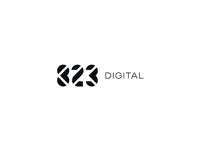 823 823 numbers identity branding mark symbol logo
